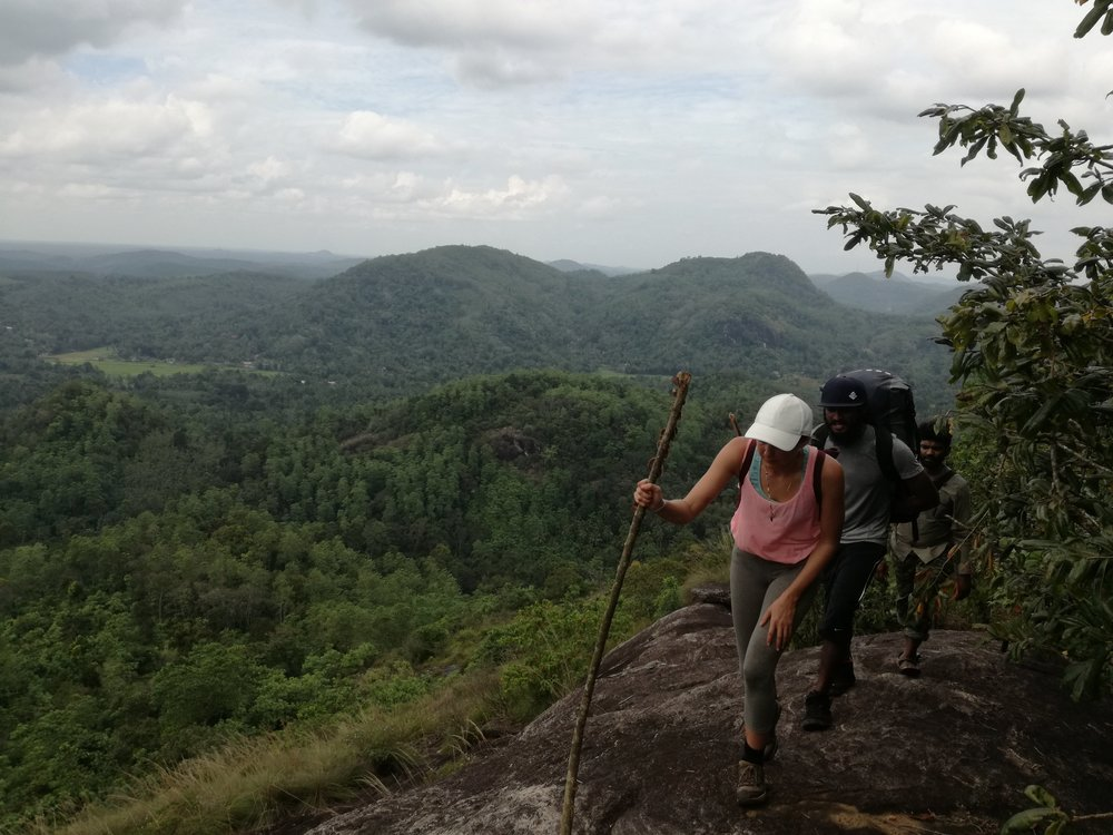 Wild camping and hiking in Sri Lanka