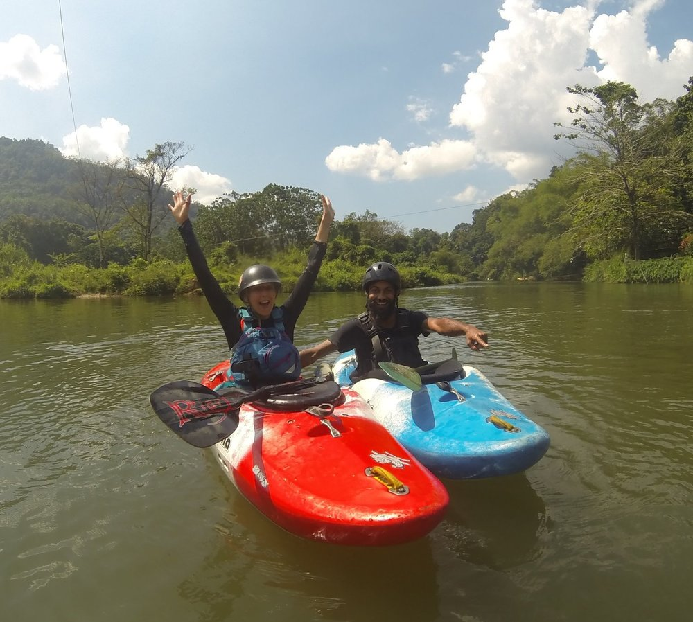 Kayaking Sri Lanka