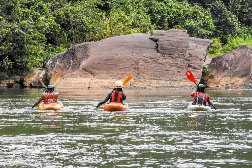 White Water Kayaking Lessons Sri Lanka