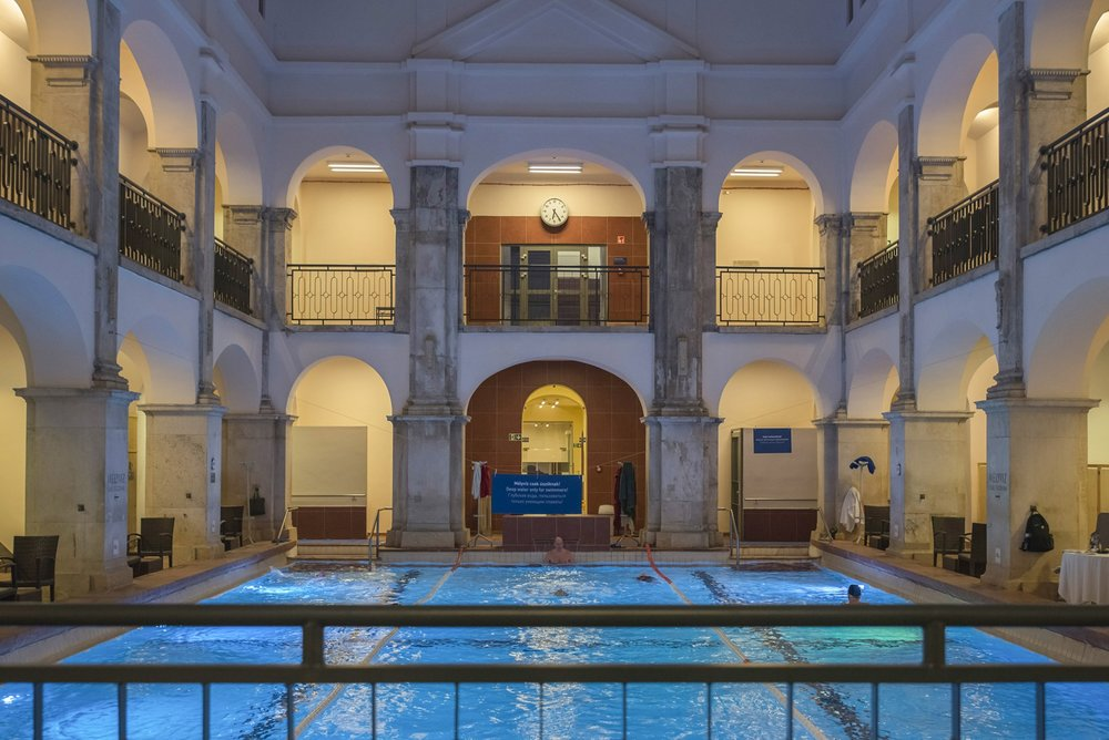 Soak away the excess at the Rudas Bath one of the city's most atmospheric thermal pools, originally built during the Ottoman occupation in the mid-16th century.