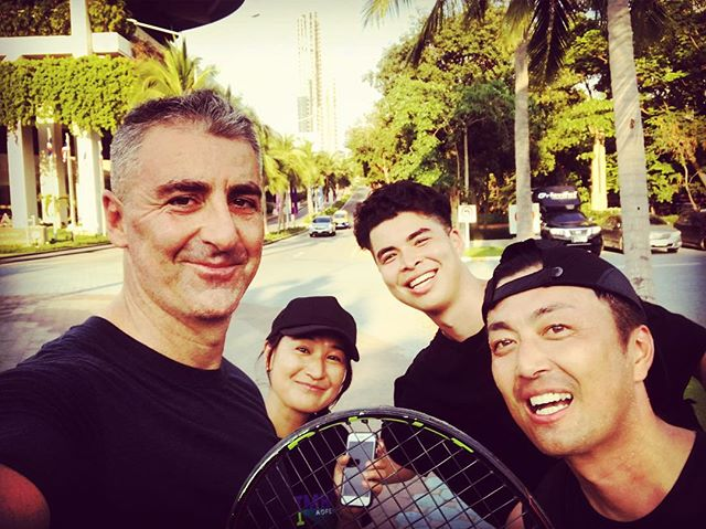 Players Gonna Play. . ⚡️🎾🔥 . w/ @daijiyoshida @linuslifson @jonasticus @akiko.davies  #takeabreak #filmreaktorglobal