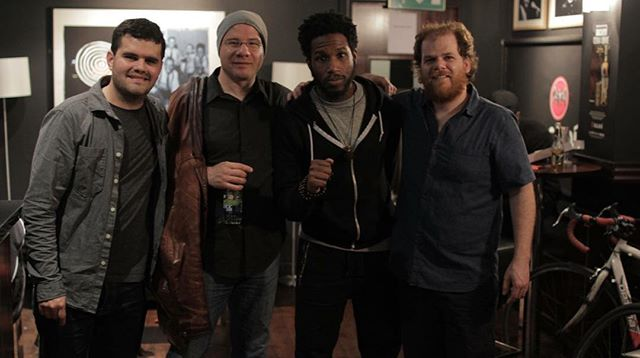 Throwback to May 2016 when we opened for Cory Henry Revival Project!  They played an amazing at The Sugar Club.  It was great to hang and chat with such an amazing musician and human!  We hope to cross paths again Cory.