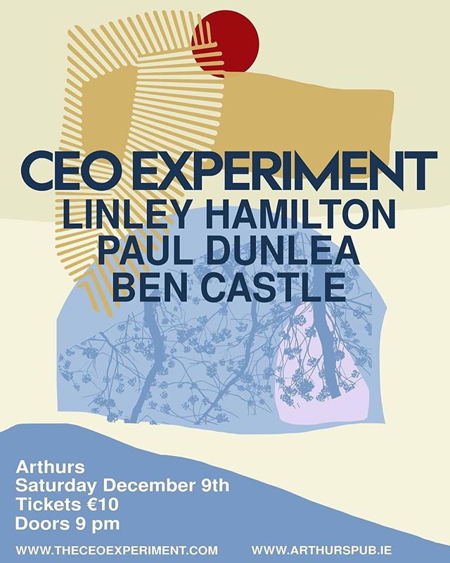After the huge success with our gig with Kurt Rosenwinkel and Michael Buckley, we decided that is was time to keep on experimenting!  What better way to keep the experimental flame lit than with arguably the best horn players in this beautiful Irish shores!  We are more than happy to announce that for a once off gig, we'll be joining forces with: - Ben Castle who has performed/recorded with Gregory Porter, Radiohead, John Williams, Hans Zimmer, Quincy Jones, Sting, Amy Winehouse, Kurt Elling, Laura Mvula, Jamie Cullum, Tom Jones, Lianne La Havas...the list just goes on and on! check him out on his website www.bencastle.com - Linley Hamilton with many career highlights in the past with significant performances or recordings with Paul Brady, Van Morrison, Foy Vance, Eleanor McEvoy, Jacqui Dankworth, ASIWYFA, Oppenheimer and Gareth Dunlop to name a few.  As well as running his Jazz Radio show on BBC Radio.  Check him out on his website www.linleyhamilton.com - Paul Dunlea who has performed/toured/recorded with the likes of Mick Flannery, Richard Reed Parry (Arcade Fire), Bryce Dressner (The National), Lewis Nash, Peter Washington,Billy Drummond, Greg Gisbert,Tim Ries, David O' Rourke's O' Rourkestra, Marshall Gilkes, Ryan Keberle,Taylor Eigsti, Bob Millikan, The Crash Ensemble, The Dublin City Jazz Orchestra, Syd Lawrence Orchestra, Hot House Big Band,Cormac McCarthy's Cottage Evolution, Brian Deady, Niall McCabe Band & The Hard Ground to name a few.  Check him out on his webpage www.pauldunleamusic.com  We'll be playing our own original music as well as music by Ben Castle, Linley Hamilton and Paul Dunlea, it'll surely be a cool night!