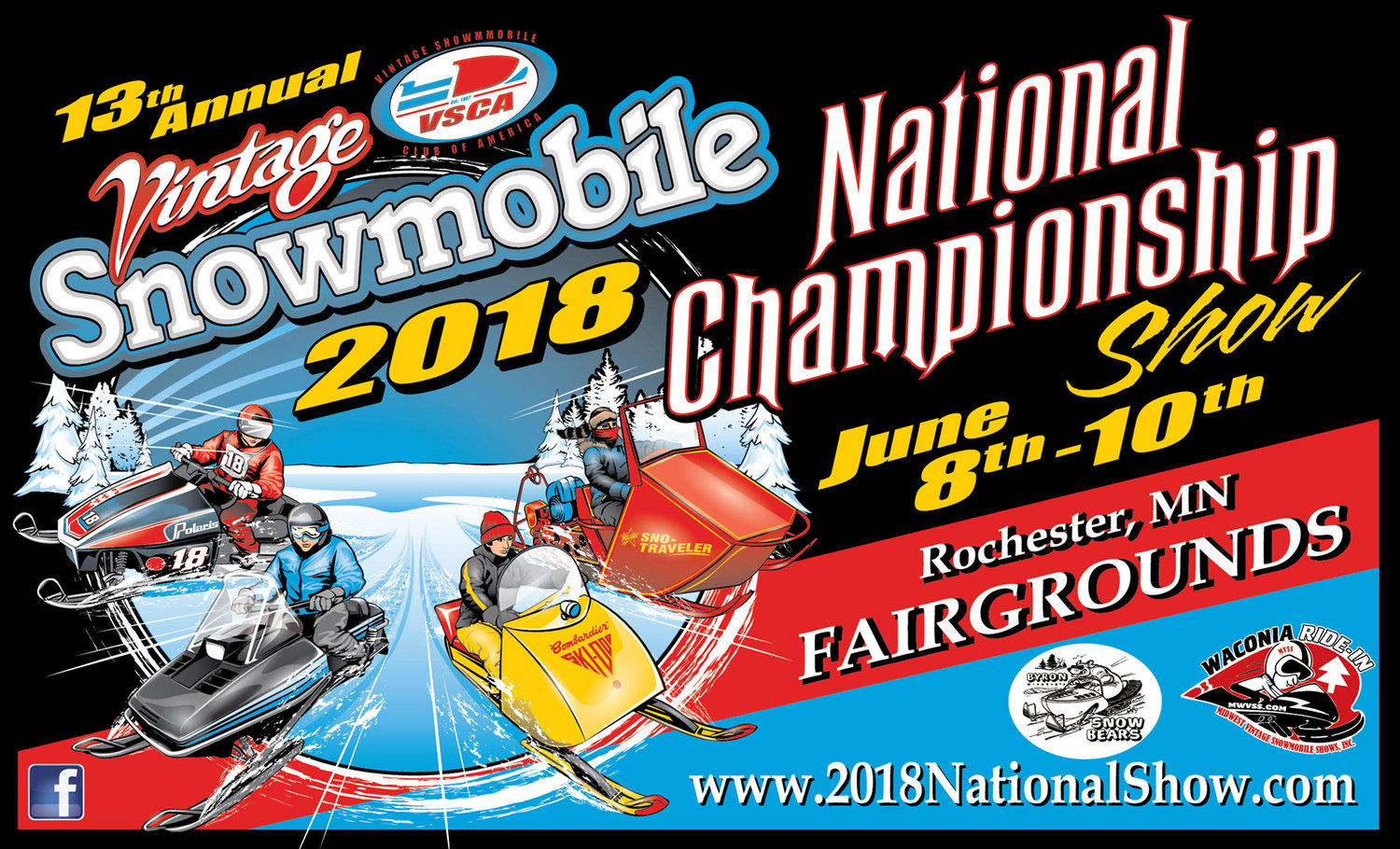 2018 National Vintage Snowmobile Show