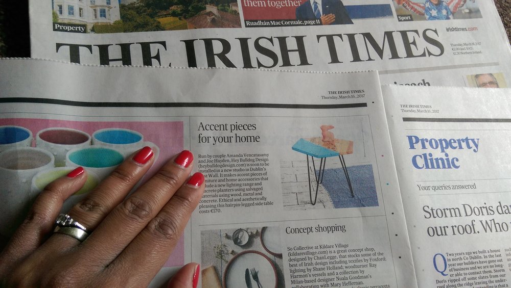 The Irish Times, March 2017