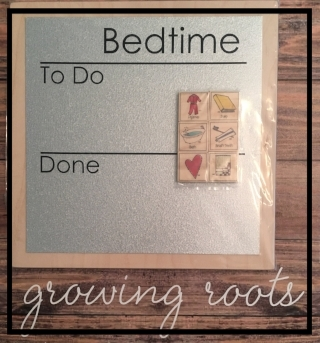 abbies house bedtime chart an 6 magnet wood tiles growing roots box