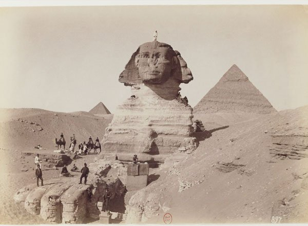 """"""" the great unexplained and inexplicable Sphinx"""""""