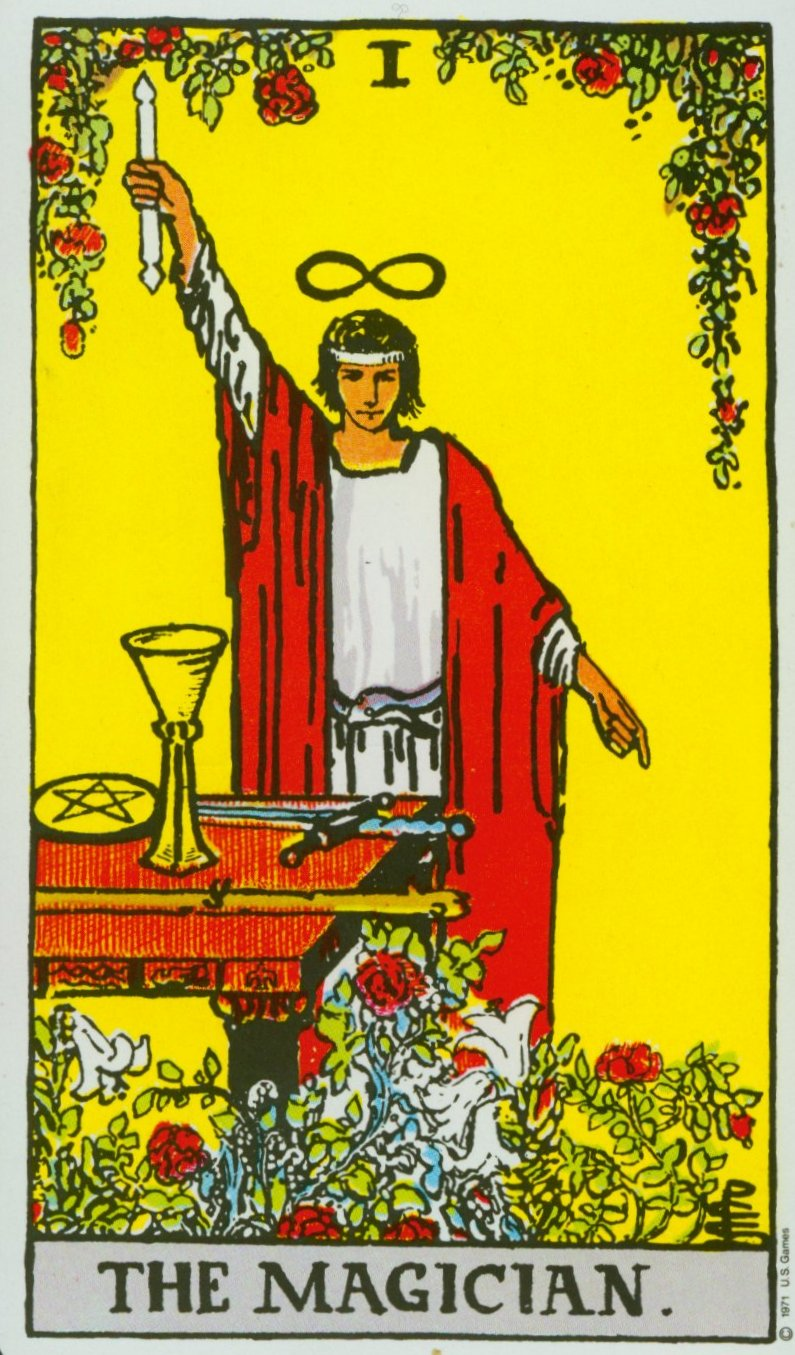 The  Magician  of the  Rider-Waite-Smith Tarot