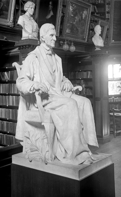 Sculpture of Emerson by Daniel Chester French