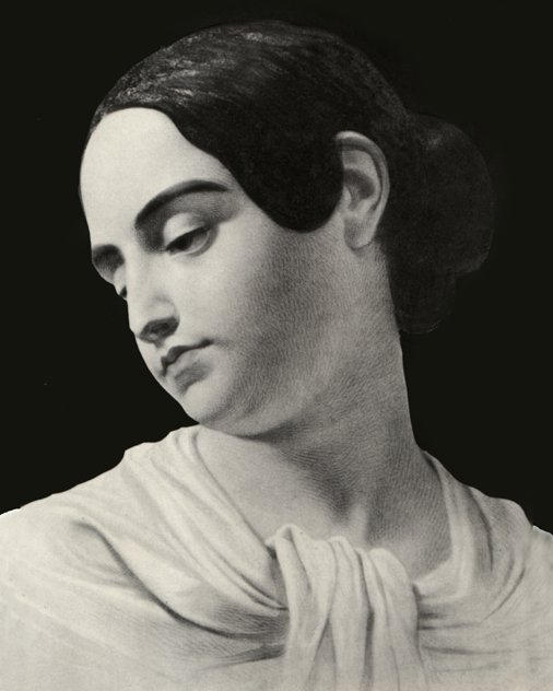 Portrait of Poe's wife Virginia