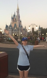 Mady in Disney World
