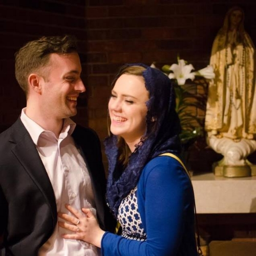 Please keep Sarah & Kevin in your prayers as they prepare for their marriage!