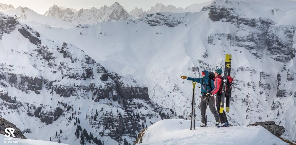 Alpine adventurers will be spoilt for choice. -