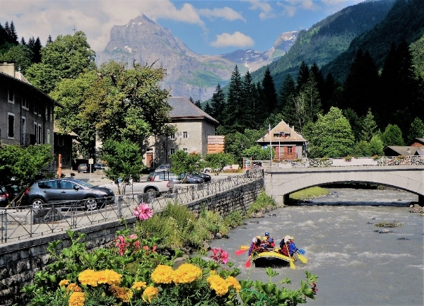 Rafting on the Giffre - Sixt Fer-a-Cheval