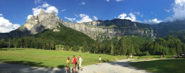 The spectacular Pic de Tenneverge mountain - Cirque Fer-a-Cheval