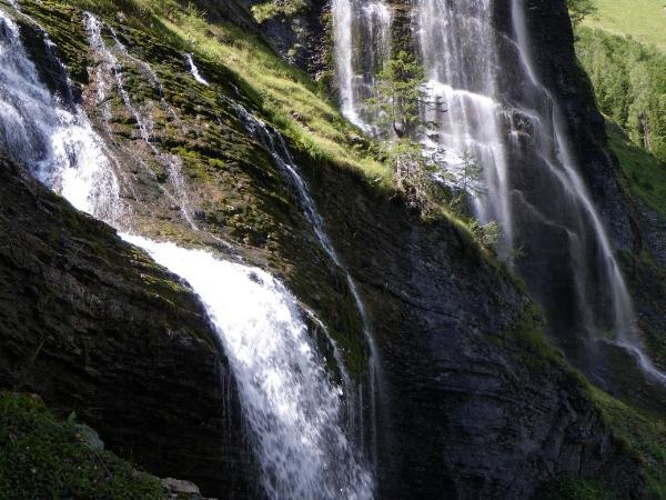 Cascades de la Pleureuse and de la Sauffaz