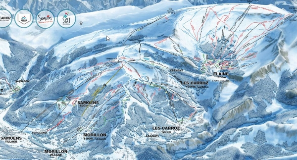 Check out the revised piste map