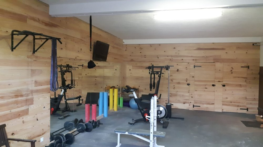 Gym at The Lodge ready for use