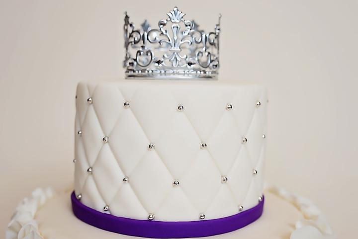 Purple White The Cake Fairy
