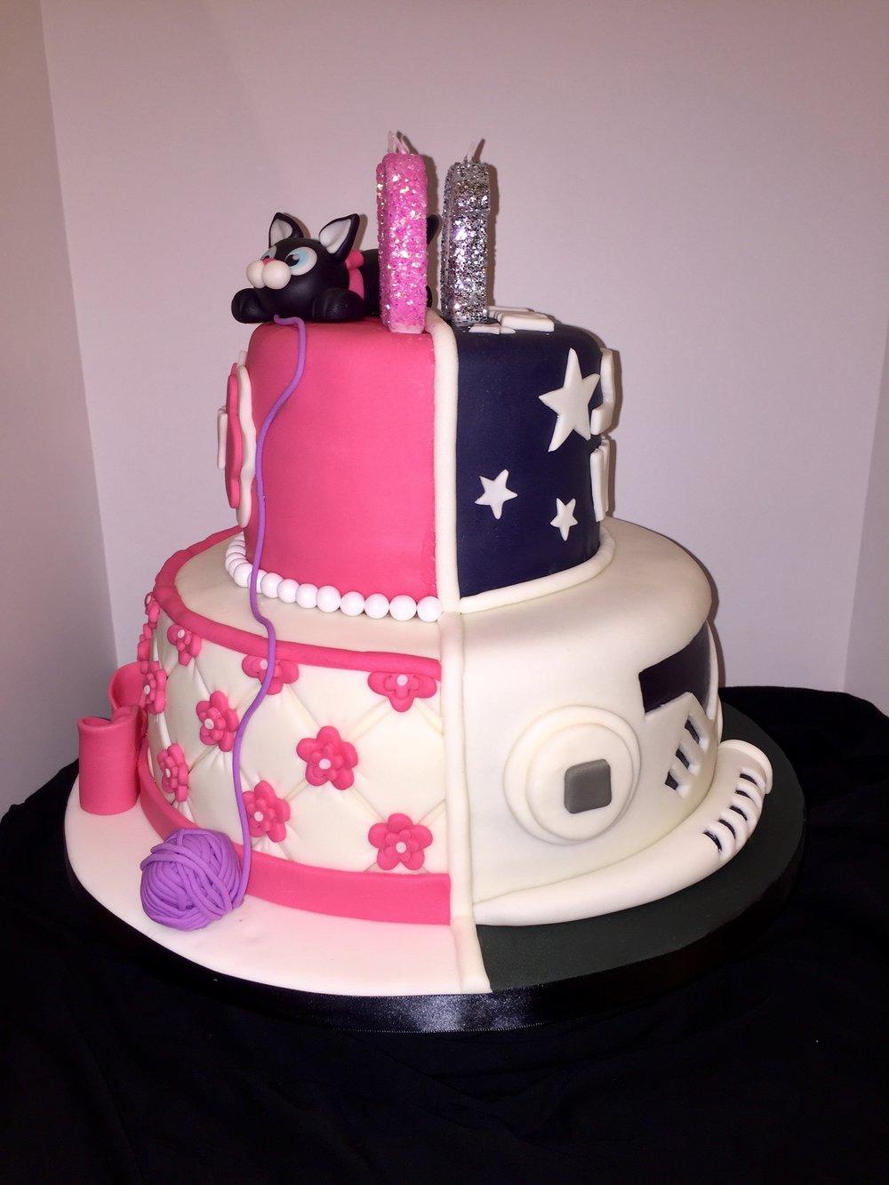 Twin Cake The Cake Fairy