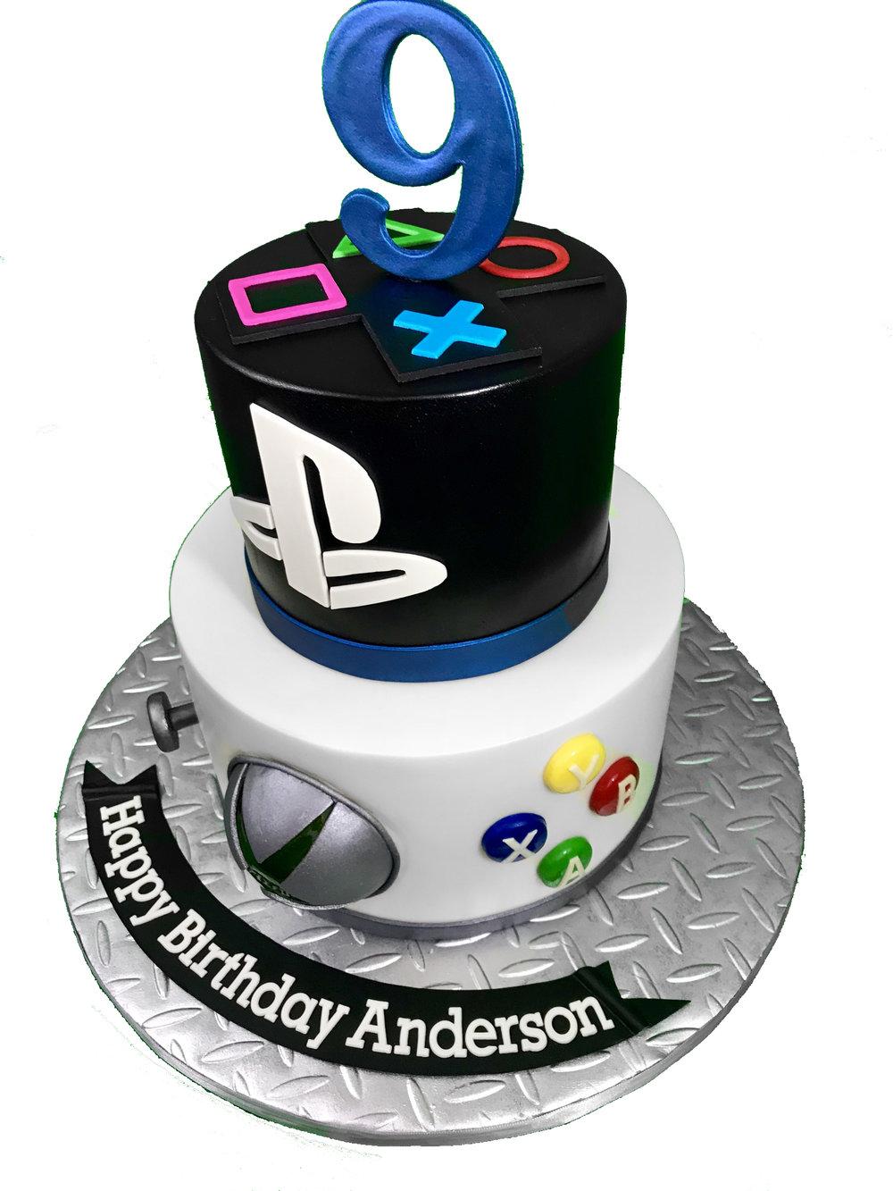 Playstation Xbox The Cake Fairy