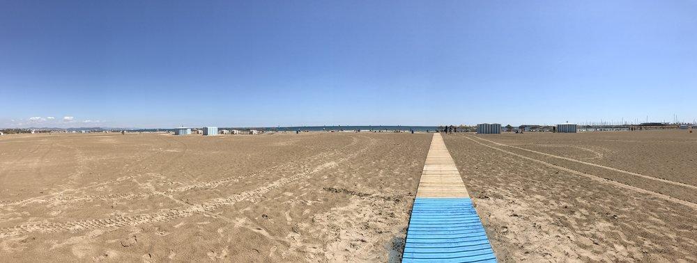 Playa de la Malvarrosa, Velencia