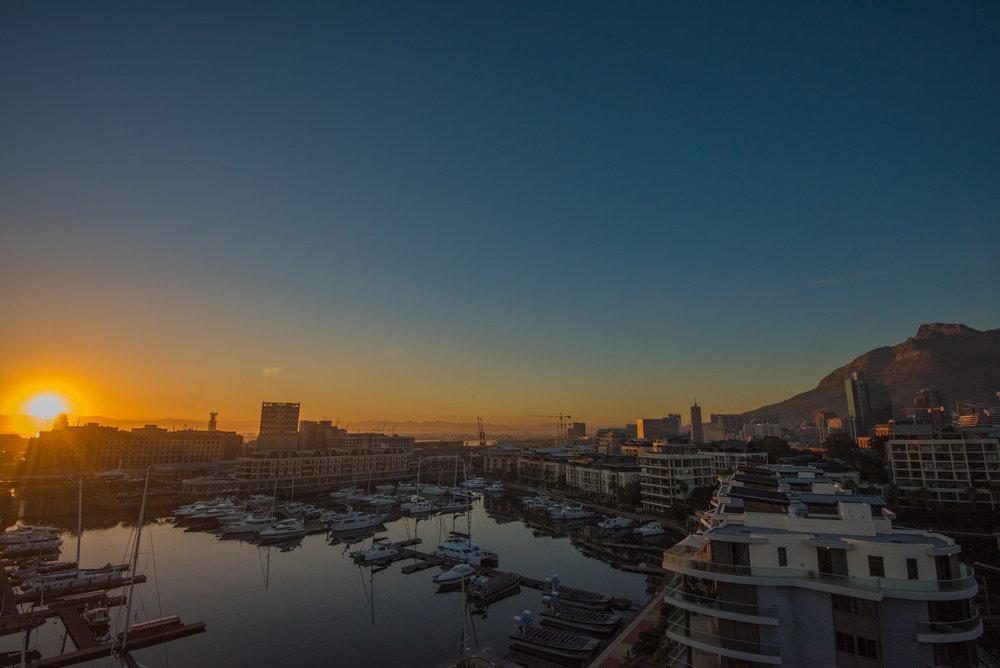 Waterfront Sunset