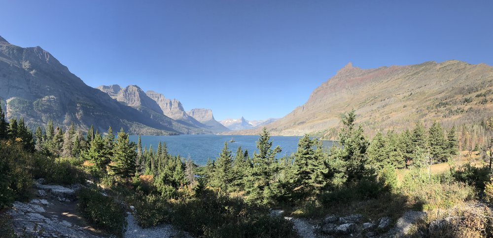 Going-To-The-Sun Road, Wild Goose Island, Glacier National Park