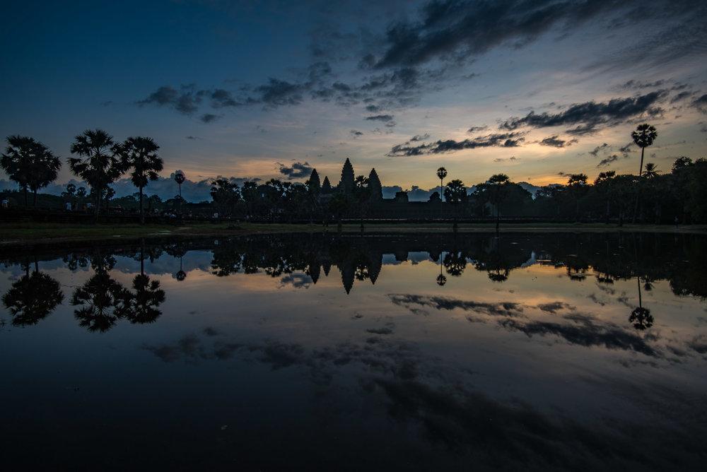 Angkor Wat in the morning light