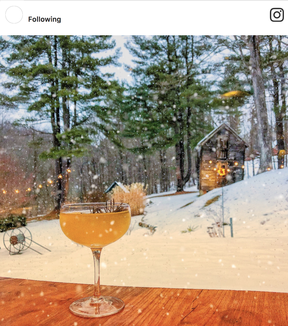 3. The Cocktails - After exploring the picturesque scenery and culture that makes Great Barrington a charming destination in the Berkshires, stop by John Andrews Farmhouse for one of their unique handcrafted cocktails—we can't help to recommend the prohibition-era