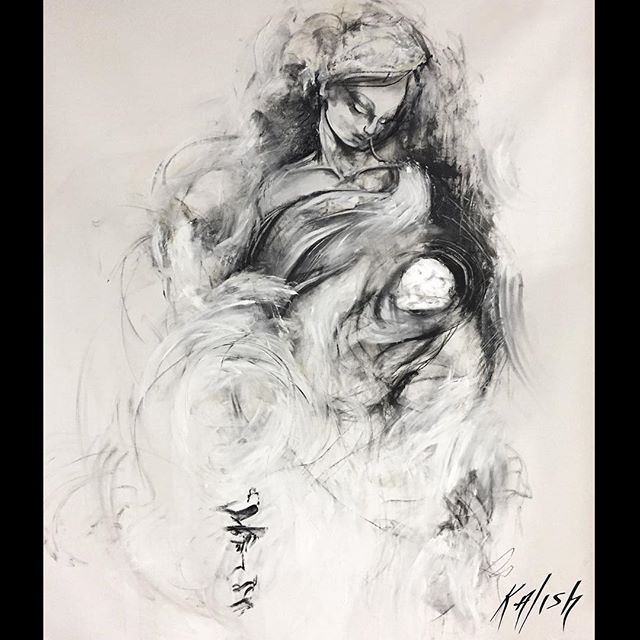 "Mother and Child 65 x 40 "" oil  Boston/Berkshire artist - Blog: iampainter.org Website: marilynkalish.com - #berkshires #saatchi #saatchigallery #saatchiart #gagosian #artinamerica  #friezeartfair  #museodorsay #theartnewspaper  #bostonmagazine #bostonartist #alexanderschwarzart #kunst #artscope #art_seeking #bostonpubliclibrary #nikkisixxpixx #themuseumofmodernart #massmoca #artwista_gallery #kunstwerk #contemporaryart #cranwellresort #berkshireartist #artcollector #tate #whitneymuseum #berkshiremagazine #dubai #artistsoninstagram @michaelkalish @maca.art.official  @socialphotographyexperiment @followingboston @the.nomadic.hussam @artscopemagazine @krakow.witkin.gallery @mfaboston @sowaboston @cosogallery @gagosiangallery @saatchiart @galerie_dorsay @thesunmagazine @vaultgallery @mulberryhairco @kingstongallery @adelson_galleries @icaboston @joseph_gross_gallery @nikkisixxpixx"