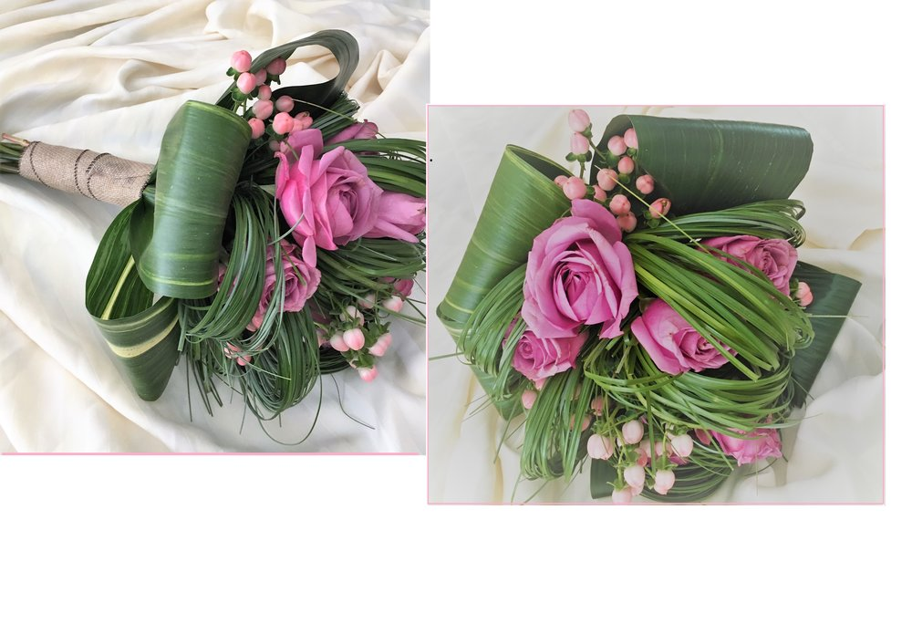 Précieux Bouquet - Vous pourrez choisir chacune des fleurs et feuillages;Chaque nuance de couleurs ayant pour vous une symbolique,afin de créer votre bouquet de rêve.Nous sommes à l'écoute de vos désirs.À partir de 98.95$