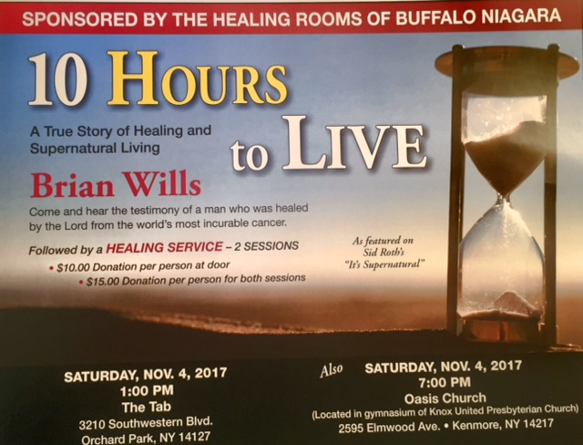 BRIAN WILLS is the only person ever in the world to survive stage 4 Burkitt's lymphoma.  He has a spontaneous healing at the National Institute of Health in Bethesda, Maryland