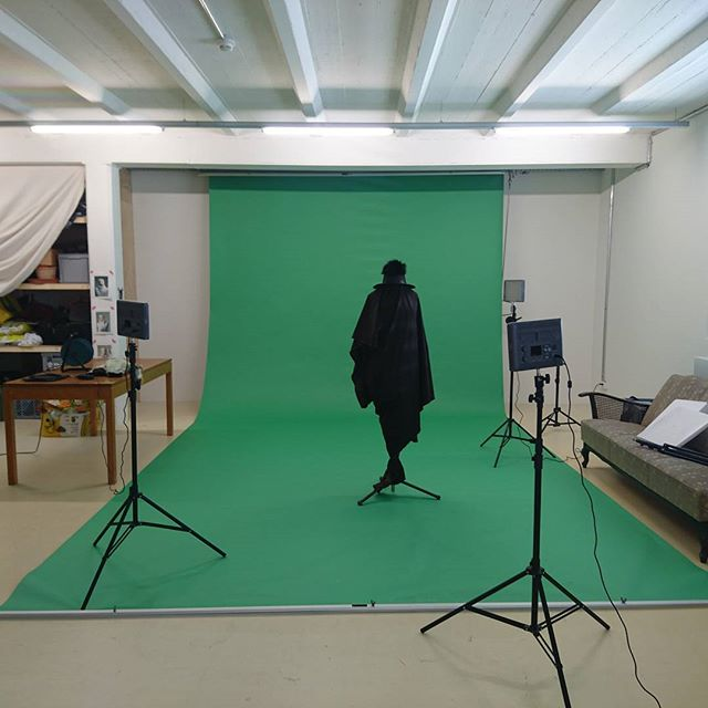 Shooting Shooting Shooting  #theseveralwaysivediedinmyimagination #naught #ohdeath #video #liveperformance #particels #greenscreen