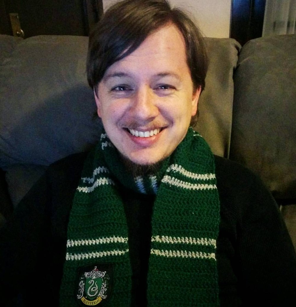 William Ledford  Bill is a Co-Host for the College of Lore podcast and plays Edwin on the Dicey Tales Podcast. Bill loves rules and rule systems and is often turned to when we need a 5e rule looked up or clarified. He recently got his Masters Degree and we couldn't be prouder.