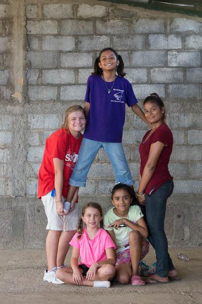 kids in Cristo Rey