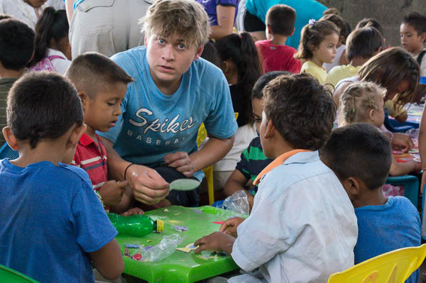 sharing the gospel through VBS in Cristo Rey
