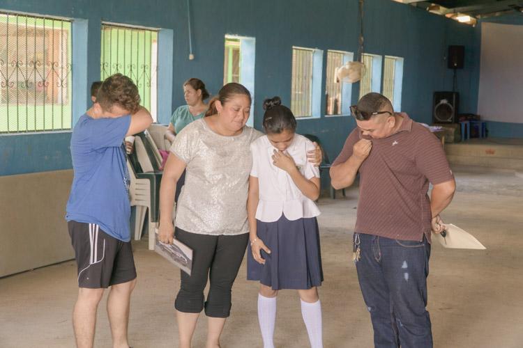 Pastors teaching their children of God's faithfulness.