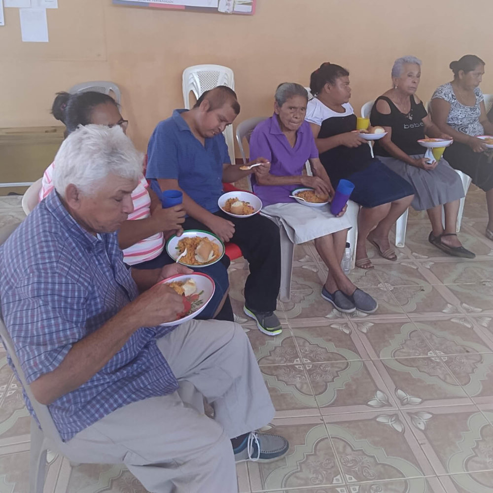 A new feeding program to help seniors and the handicapped during Nicaragua's crisis.