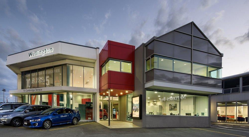 MItsubishu Motors Wellington