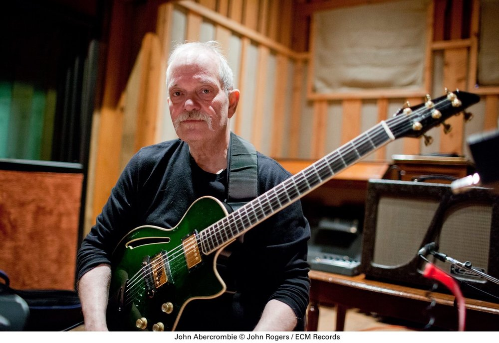John Abercrombie with his Albion Greenstreet