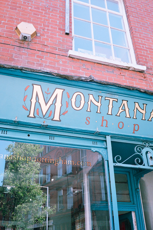 Montana Shop  Nottingham, United Kingdom.