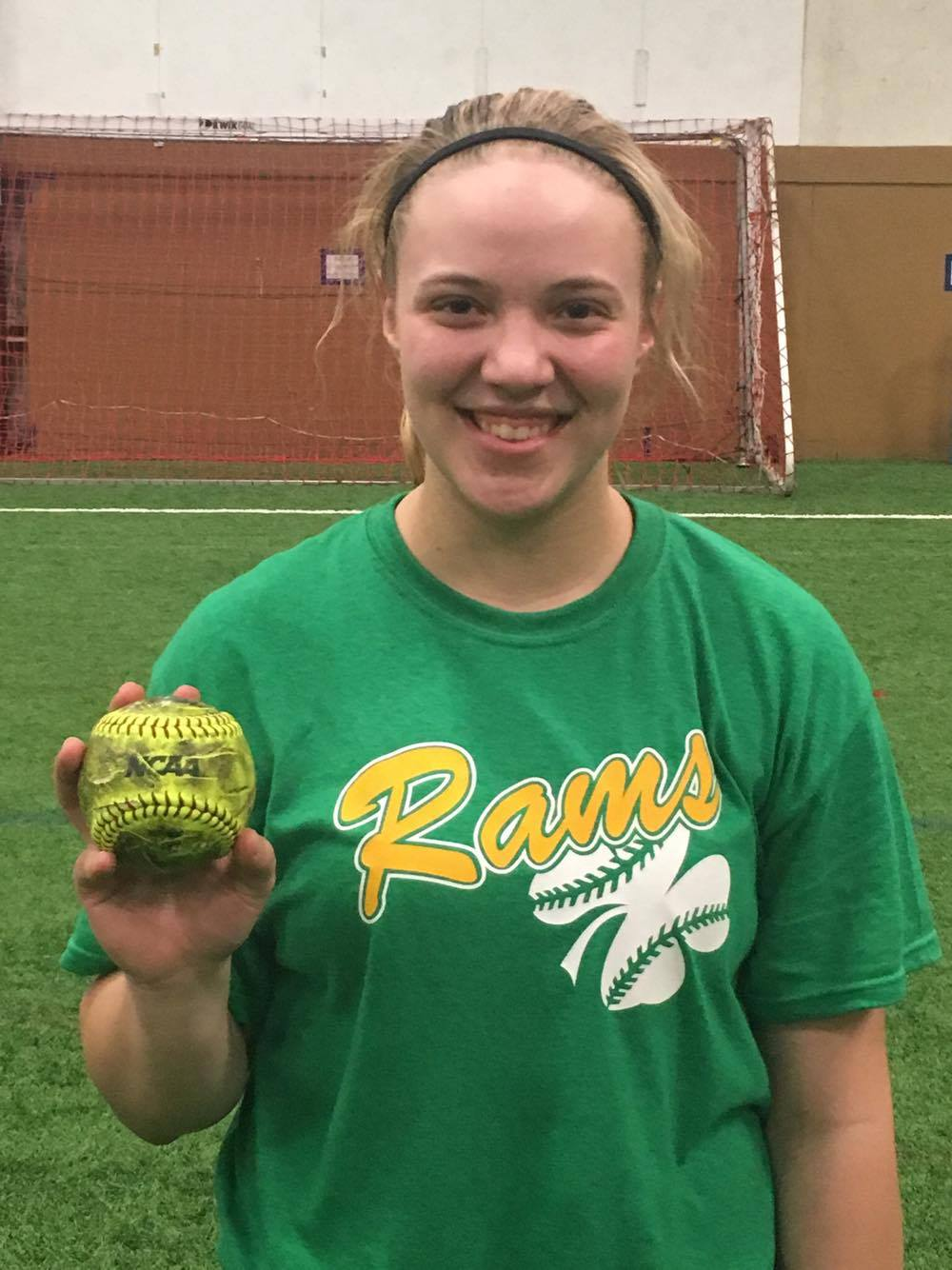 ELLIE SNETSELAAR    3/18/17    SEP Rams 14u Black