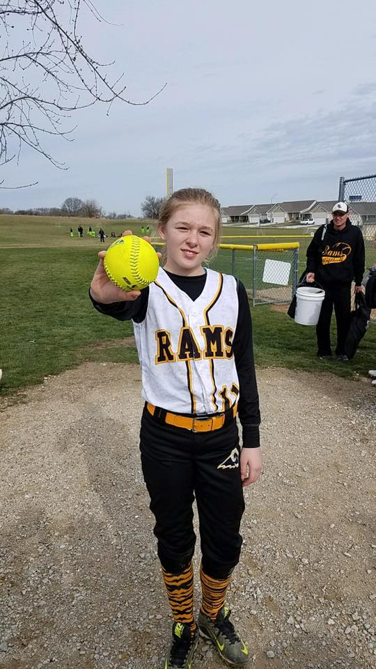 JADE OSBORN    4/2/17    SEP Rams 12u Grey
