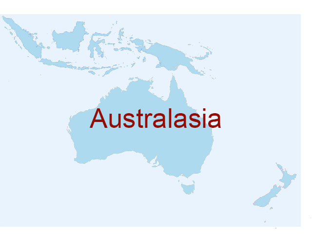 Australasia continent serial killers country
