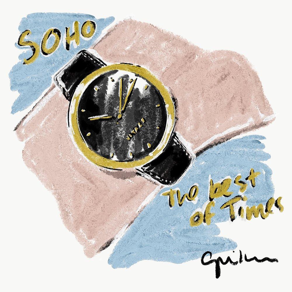 Vitaly's Soho x Gold watch