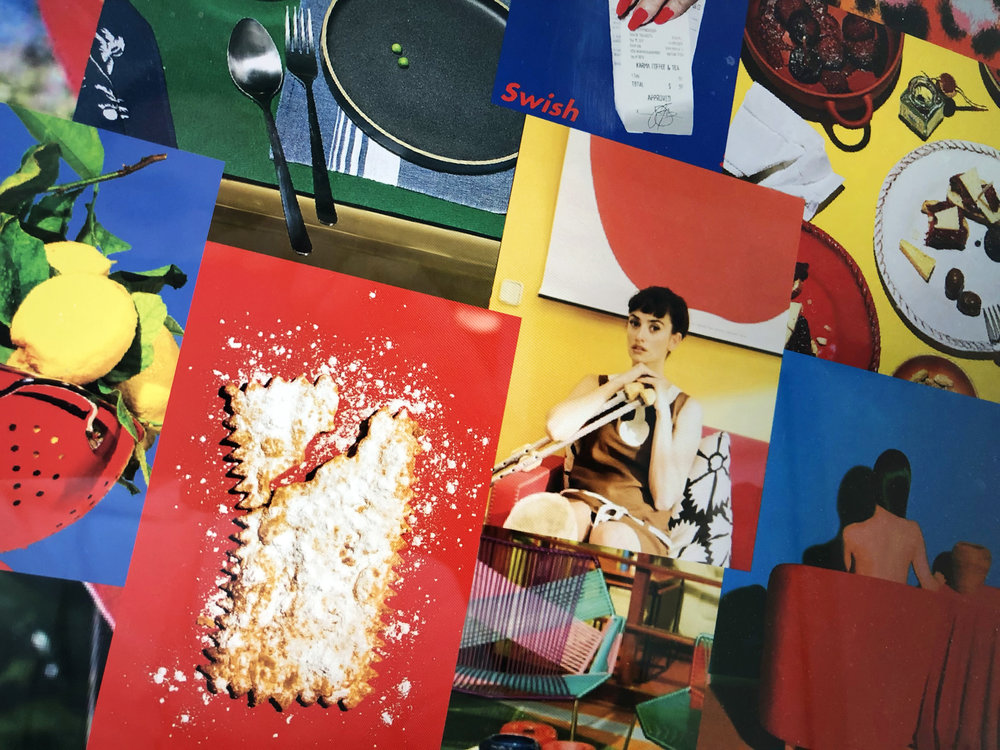 The Moodboard: Almodovar's signature colour palette served as inspiration for the series.