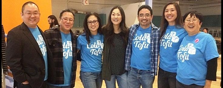 (L-R) Aaron Takahashi, Hon. Robert Kawahara, Dawn Kiko Cheng, Jully Lee, Thomas Oshiro, Kimberly Hayashi, Kathleen Tokudomi