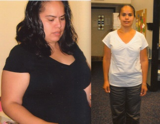 Maria lost over 50 pounds and 12% body fat.
