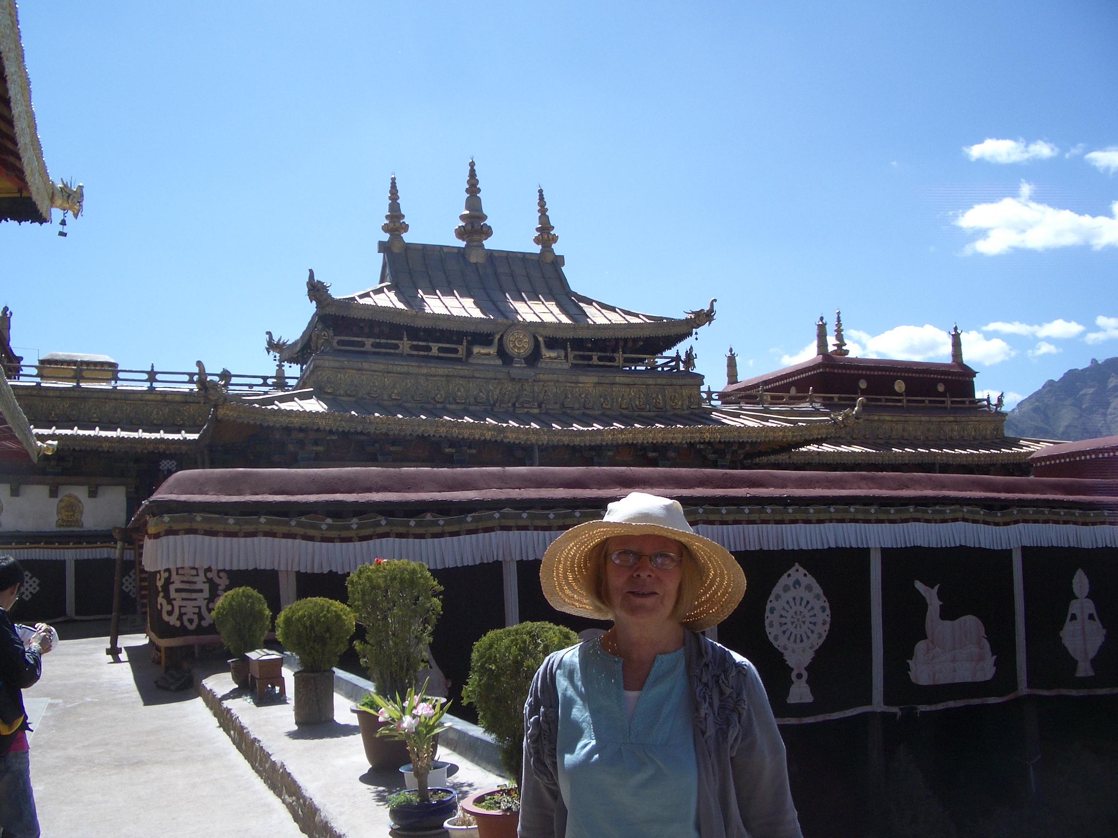 In Lhasa Tibet - post momo